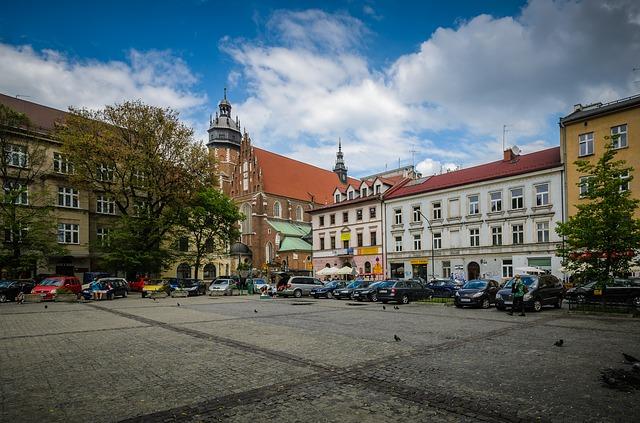 Kazimierz słynna Żydowska Dzielnica Krakowa